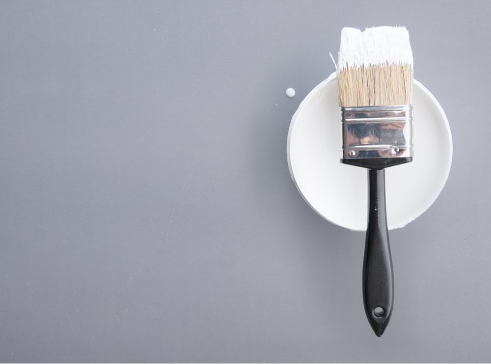 best gloss paint tin + brush