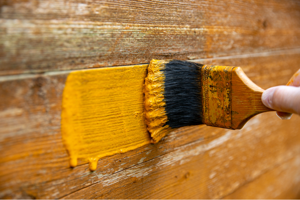 best fence paint in yellow