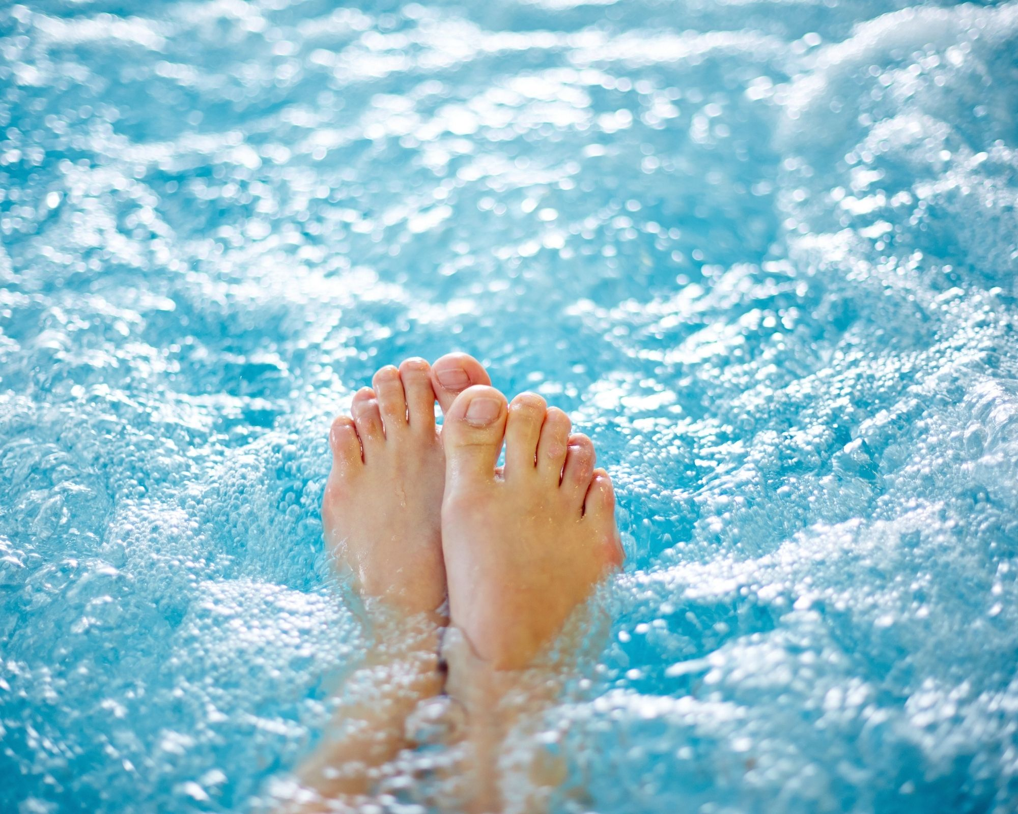 feet in best inflatable hot tub