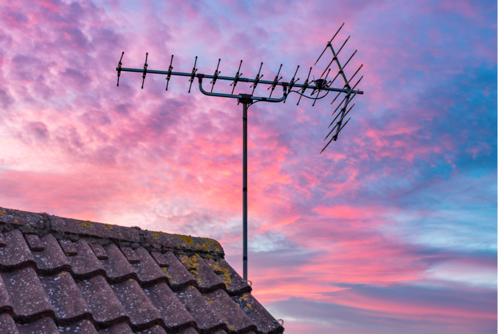 best outdoor tv aerial for freeview UK