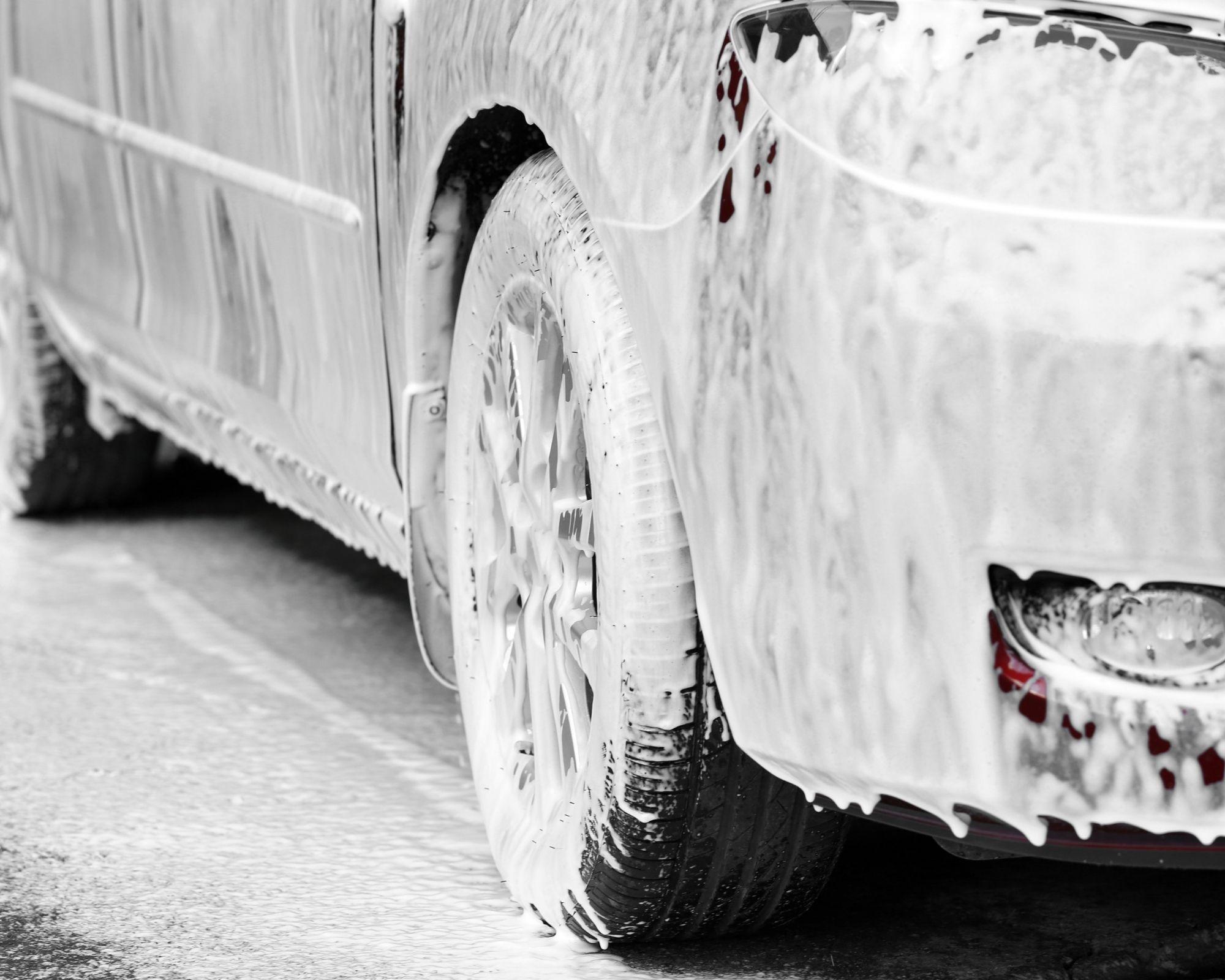 best snow foam on car